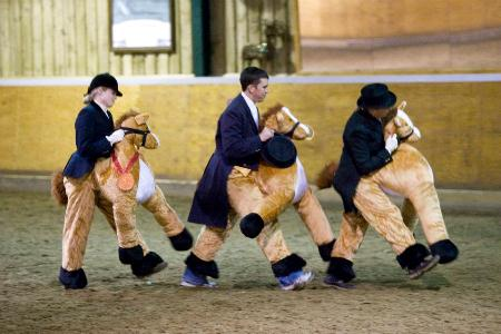 Fancy dress at Strictly Come Dressage